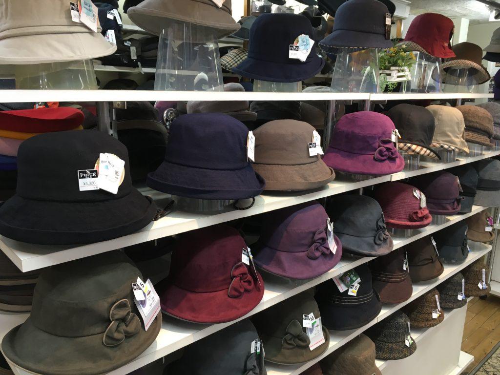 ご婦人帽各種の写真